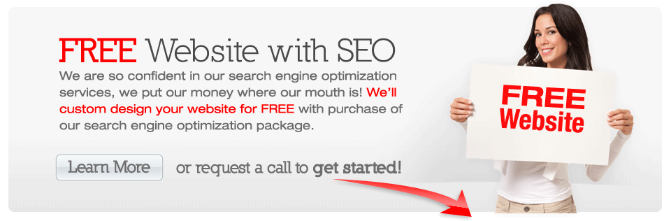 FREE website with SEO package