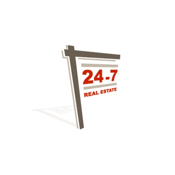 24-7 Real Estate logo